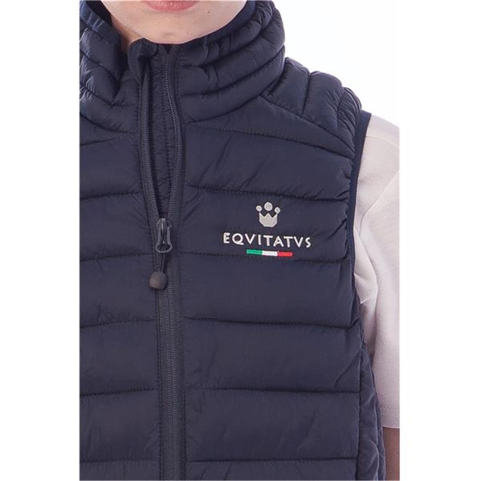 GILET BOMBER CROWN A (6 Anni - NAVY)