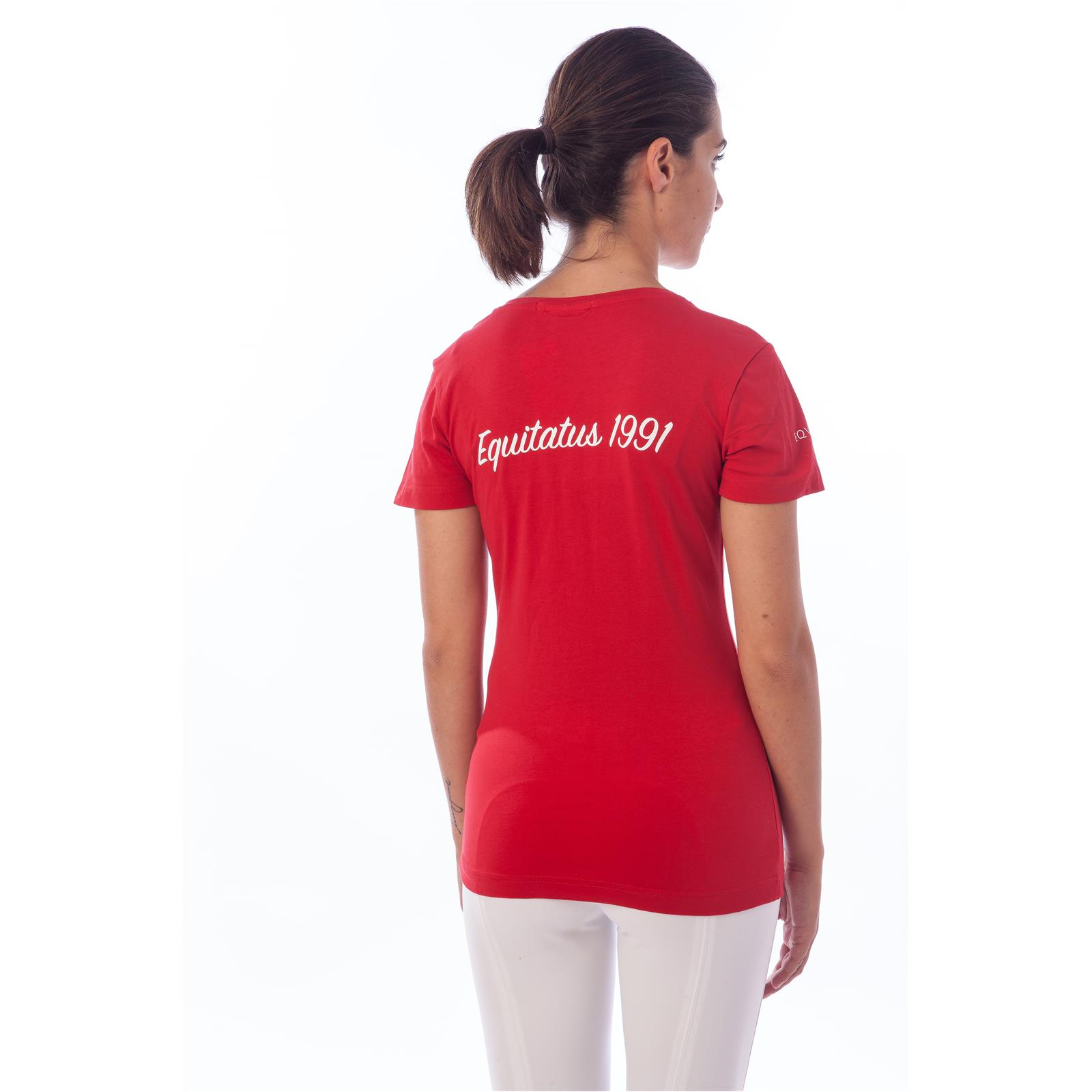 T SHIRT JUDITH  (L - ROSSO)