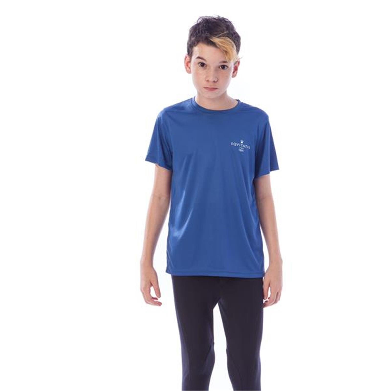 EQUITATUS T-SHIRT TECNICA CROWN C