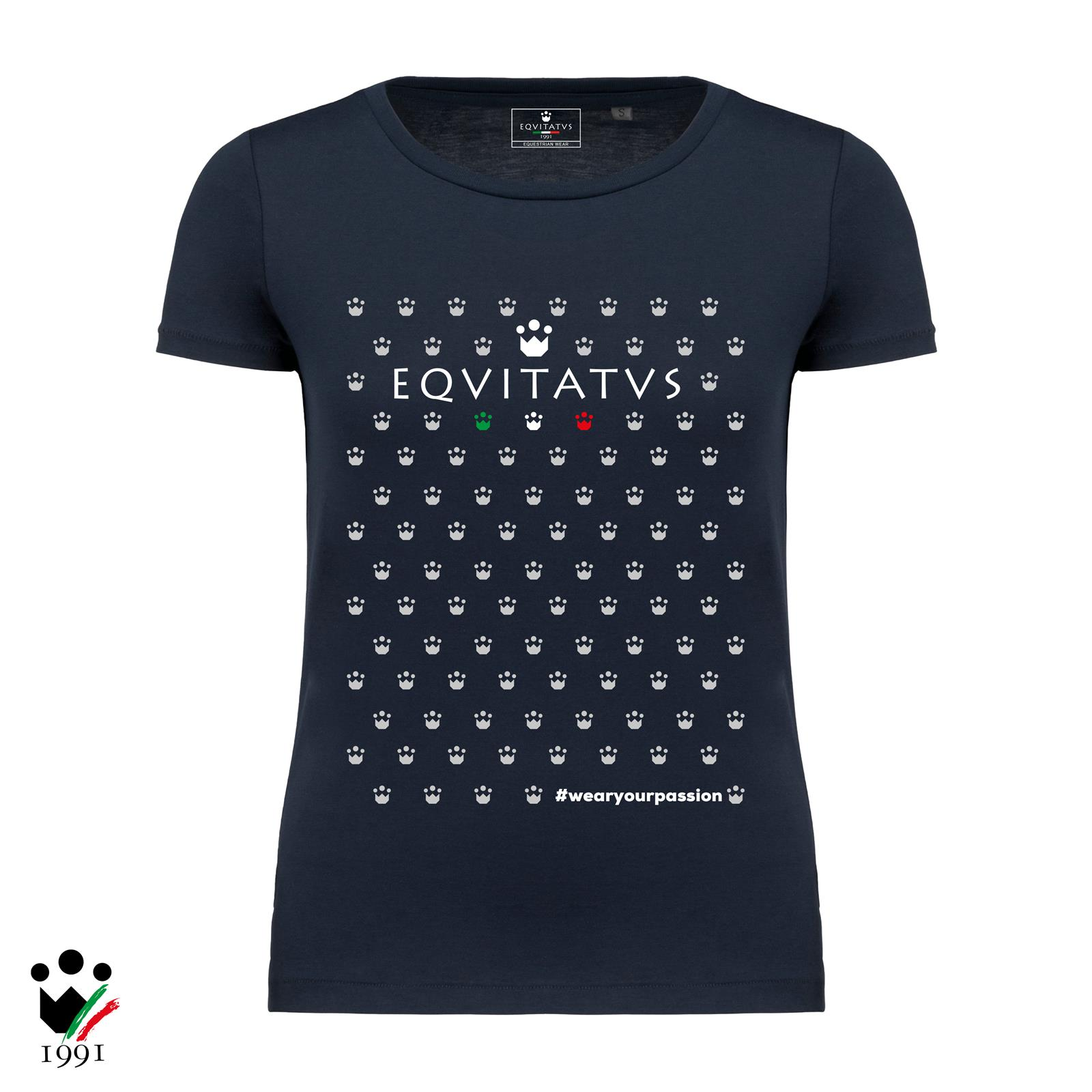 EQUITATUS T-SHIRT DONNA CROWN